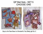 Set 5 - Quick Page/Mat Set...Great for Cards/Pages....Choose One