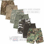 Mens US Prewashed Ripstop Cotton Bermuda  Combat Shorts Army Style Fishing Cargo