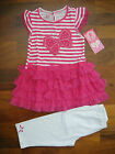 new YOUNG HEART GIRLS PRETTY SUMMER 2 PIECES OUTFIT SETS 6X