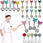2 Styles 7 Colors Nurse Clip-on Fob Brooch Pendant Hanging Fobwatch Pocket Watch