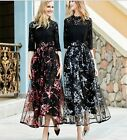 2017 spring occident sisters pretty long fashion perfect stylish princess dress