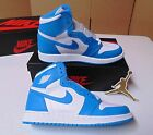KIDS NIKE AIR JORDAN 1 ONE RETRO HIGH OG UNC GS BASKETBALL SHOES NIB SZ 7Y YOUTH