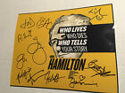 HAMILTON BROADWAY PLAY. SIGNED AUTOGRAPH 8x10 PHOTO! BY THE CAST!!