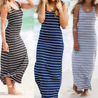 Plus Size Women's Boho Long Maxi Dress Casual Evening Party Dress Beach Sundress
