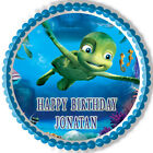 Turtles Tale - Edible Cake Topper OR Cupcake Topper, Decor