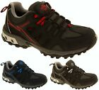 Mens Leather NORTHWEST TERRITORY Hiking Walking Waterproof Shoes Sz Size 8-12