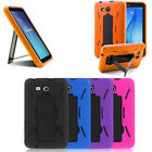 Heavy Duty Hard Rubber Shockproof Case Cover For Samsung Galaxy Tab E 8.0 T377