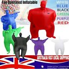 Unisex Fan Operated Inflatable Chub Fat Masked Suit Fancy Party Dress Costume AU