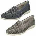 Ladies Remonte Casual Slip On Pumps D1918