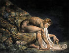 Newton by William Blake (classic male nude art print)
