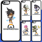 TPU Shockproof Bumper Case Overwatch Characters Heros Cute iPhone 7 6s 5s Plus