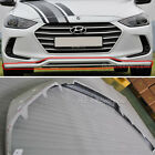 Body Kit Front Bumper For 17 Hyundai Elantra Avante AD