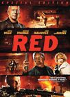 Red (DVD, 2011) Special Edition Bruce Willis Morgan Freeman NEW Sealed