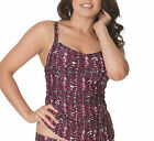 Curvy Kate CS2906 Instinct Tankini Top Swimwear in Cherry Berry
