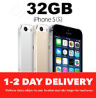 APPLE iPHONE 5S 32GB GOLD SILVER SPACE GREY 100% GENUINE & UNLOCKED USED