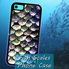 Fish Scales Ocean Sea for iPhone 5 5s 4 4s 5c 6 6 7 Plus iPod touch Pone Case
