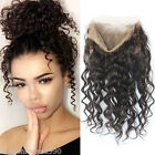 Pre Plucked 360 Lace Frontal with Strap Closure Brazilian Loose Wave Human Hair
