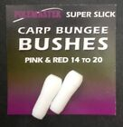 DRENNAN POLEMASTER SUPER SLICK CARP BUNGEE BUSHES in 3 SIZES - FREE UK P & P