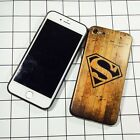 "*ALL NEW* Soft Wooden Texture Back Cover Case For ""Apple iPhone 5/5s"""