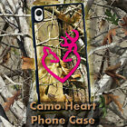 Buck Real Tree Camo Heart  for Sony Xperia Z Z1 Z2 Z3 Plastic Phone Case, used for sale  Hollywood
