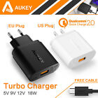 Aukey Qualcomm Quick Charge2.0 USB Wall Charger Universal Travel Portable Dock