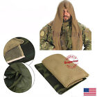 USA Army Military Tactical Mesh Shemagh Scarf Men's Head Wrap Forest Camouflage