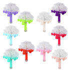 Artificial Rose Flower Wedding Bride Bridal Bouquet Posy Party Decorate 10-Color