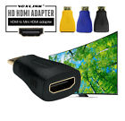 VOXLINK Gold plating HDMI female to Mini HDMI male Adapter for HDTV PC PS3
