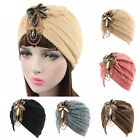 Women Indian Style Stretchable Turban Hat Hair Loss Chemo Head Wrap Cap