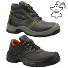 NEW MENS LIGHTWEIGHT STEEL TOE CAP SAFETY WORK TRAINERS SHOES BOOTS GENTS SIZE