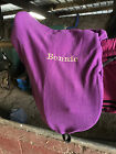 Saddle covers in fleece