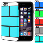 Puzzle Hybrid TPU Dual Layer Interchangeable Case Cover For Apple iPhone 6 4.7