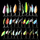 Wholesale Lots Assorted Spoons Metal Fishing Lures Spinners Hooks Sequins Baits