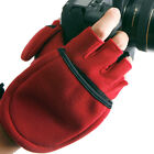 Camera MULTI SHOOTING GLOVES Mitten Photographer Winter Travel Black/Red n