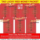 Auspicious Red Packet Ang Pow Taoist Energized Symbols Envelope Prosperity Luck