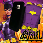 Batgirl TV series Leather Wallet Galaxy S7 S6 S5 S4 S3 Note 5 4 3 Phone Case