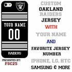 Oakland Raiders NFL Phone Case Cover for iphone 7 iphone 6 iphone 5 ipod 5 etc