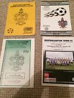 """NORTHALLERTON TOWN FC  HOME PROGRAMMES  """" BUY 1 GET 1 FREE """""""
