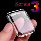 Apple Watch Full Cover Screen Protector Film Soft TPU Case 38/42mm series 3/2/1
