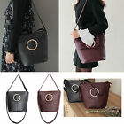 Korea Fashion Women Ottu Cross Bag Handbags Black Wine Synthetic Leather Party