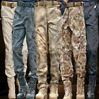 New Men's Military Casual Waterproof Outdoor Shark skin Soft Shell Hunt Trousers