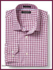 Banana Republic Mens CAMDEN-FIT NON IRON PINK M Dress SHIRT NEW FREE SHIPPING