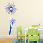 Star Burst Dandelion Vinyl Wall Decal -  fits playroom, family rooms + more K671