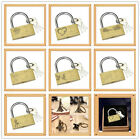 Wedding Gift 40mm Lock Personalised Engraved Padlock Present Valentine's Day