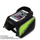Handlebar Bag Waterproof Bicycle Mountain Bike Bags Mobile Phone Holder Pouch