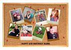 COLLAGE MEMO POLAROID ADD YOUR PERSONALISED PHOTO PICTURE A4 EDIBLE CAKE TOPPER
