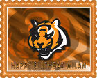 CINCINNATI BENGALS (3) - Edible Birthday Cake Topper OR Cupcake Topper, Decor on eBay