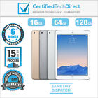 Apple iPad Air 2 Wi-Fi Only 16GB 64GB 128GB A1566 *Excellent *6 Month Warranty*