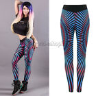 Womens Sports GYM Yoga Pants Running Fitness Leggings Athletic Stretchy Trousers