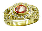 Multi Gold Plated personable supplies Ring K,M,O,Q UK